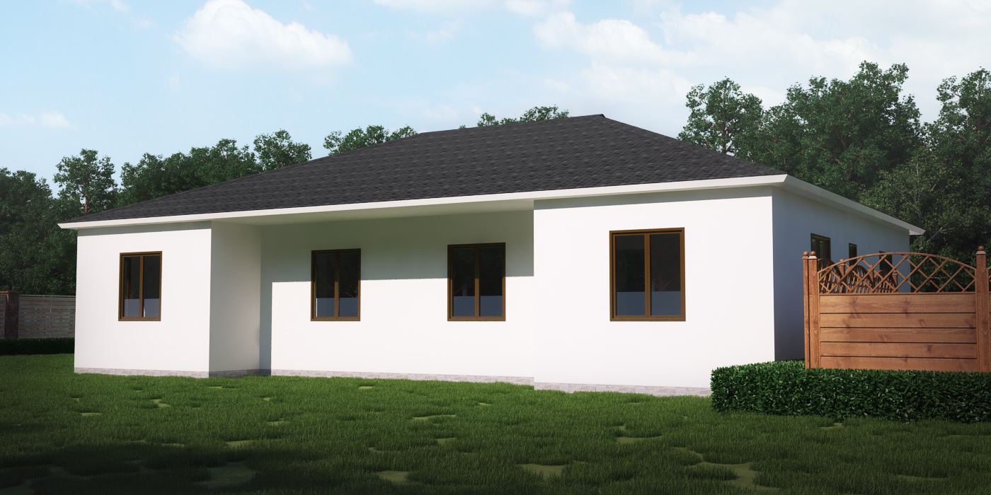 Beautiful Comfortable Steel Frame Prefab House