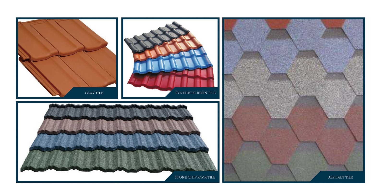Roof decoration material