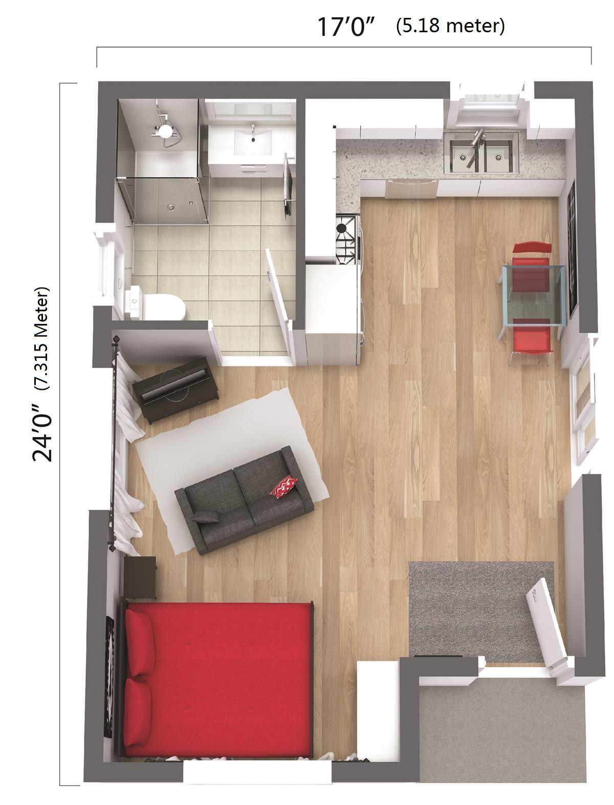 Rooms: Cheap Cement Foam House
