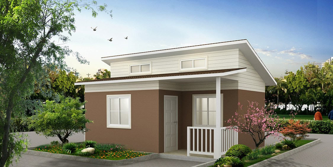 New design Comfortable Prefab villa