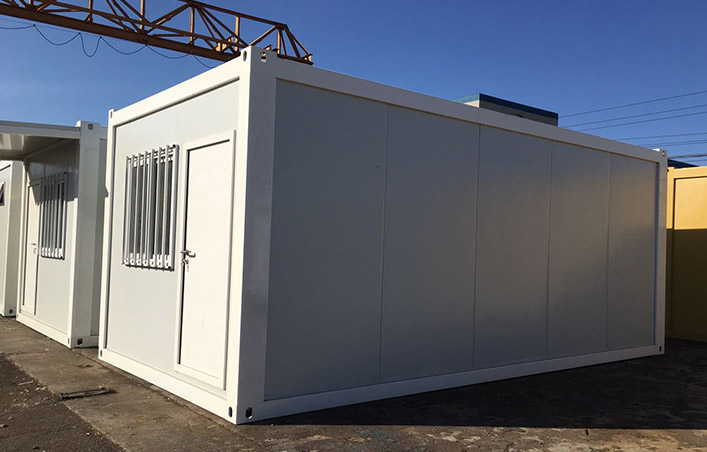 20ft portable flat pack container house