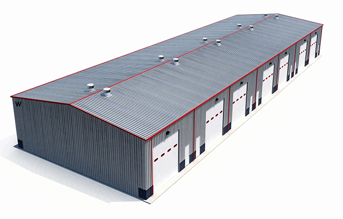 Large or Small Steel Structure Building Warehouse