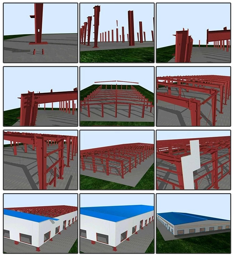 Free Design Prefabricated Steel Structure Workshop steel structure warehouse