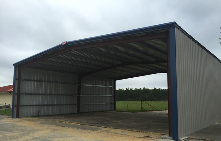 Design Steel Structure Farm Shed