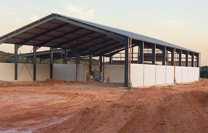 Prefab Steel Framing Shed
