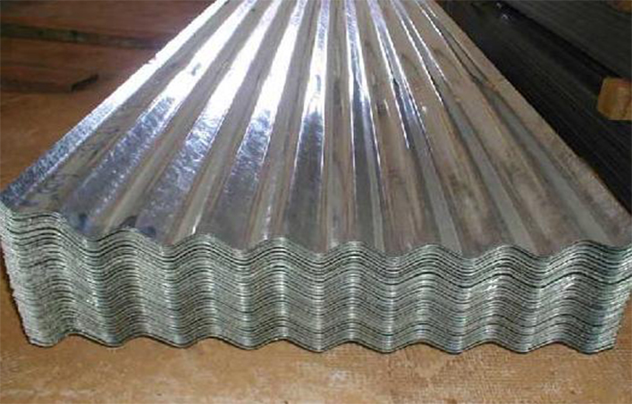 GALVANIZED AND GALVALUME CORRUGATED STEEL SHEETS