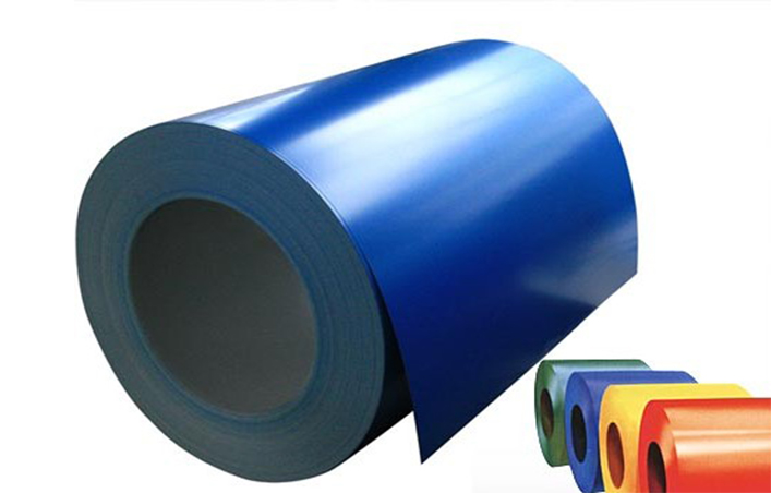 GALVANIZED AND GALVALUME COLOR STEEL COIL