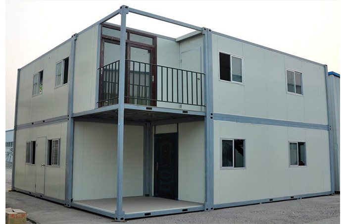 2 story prefabricated container home