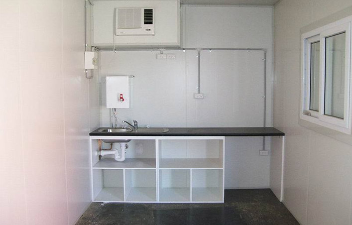 Dining hall use modular container house