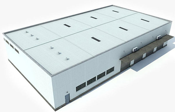 Low cost steel structure warehouse building