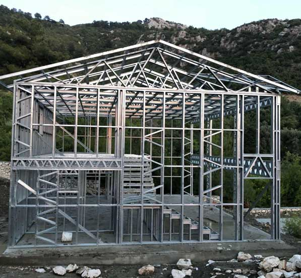 steel structure house manufacturer steel structure house