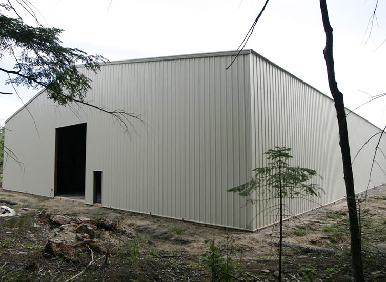WZH GROUP New Steel Structure Warehouse Project