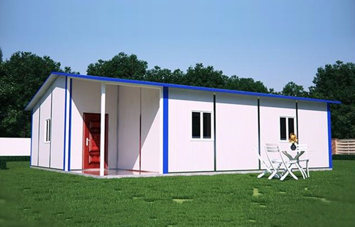 Cheap prefab steel structure house for sale