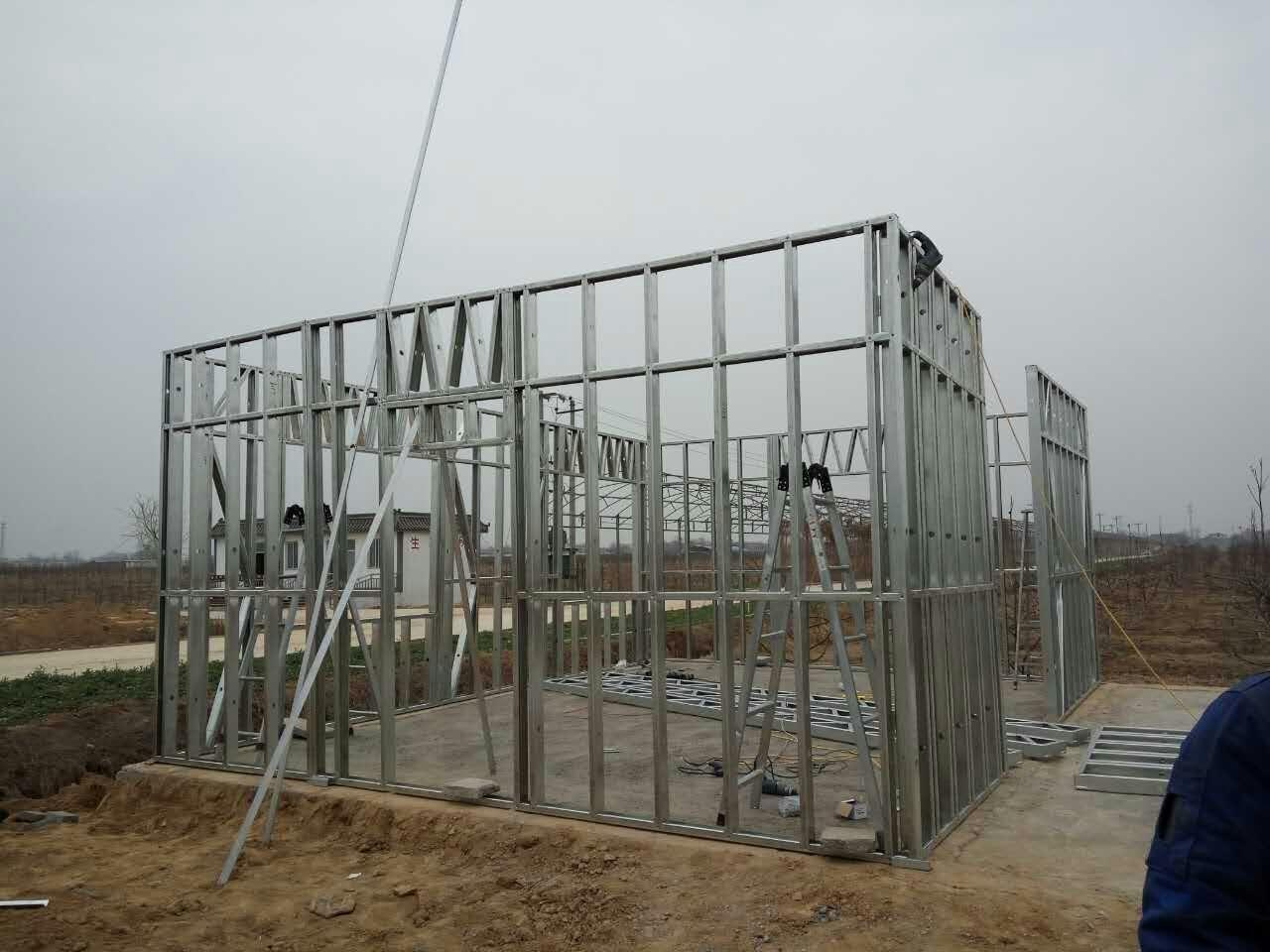 Light Gauge Steel Wall Frame Cold Formed Steel Wall Frame