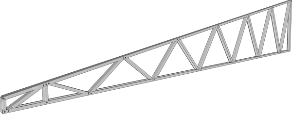 Fast Assembled Cold-formed Steel Roofing Truss System