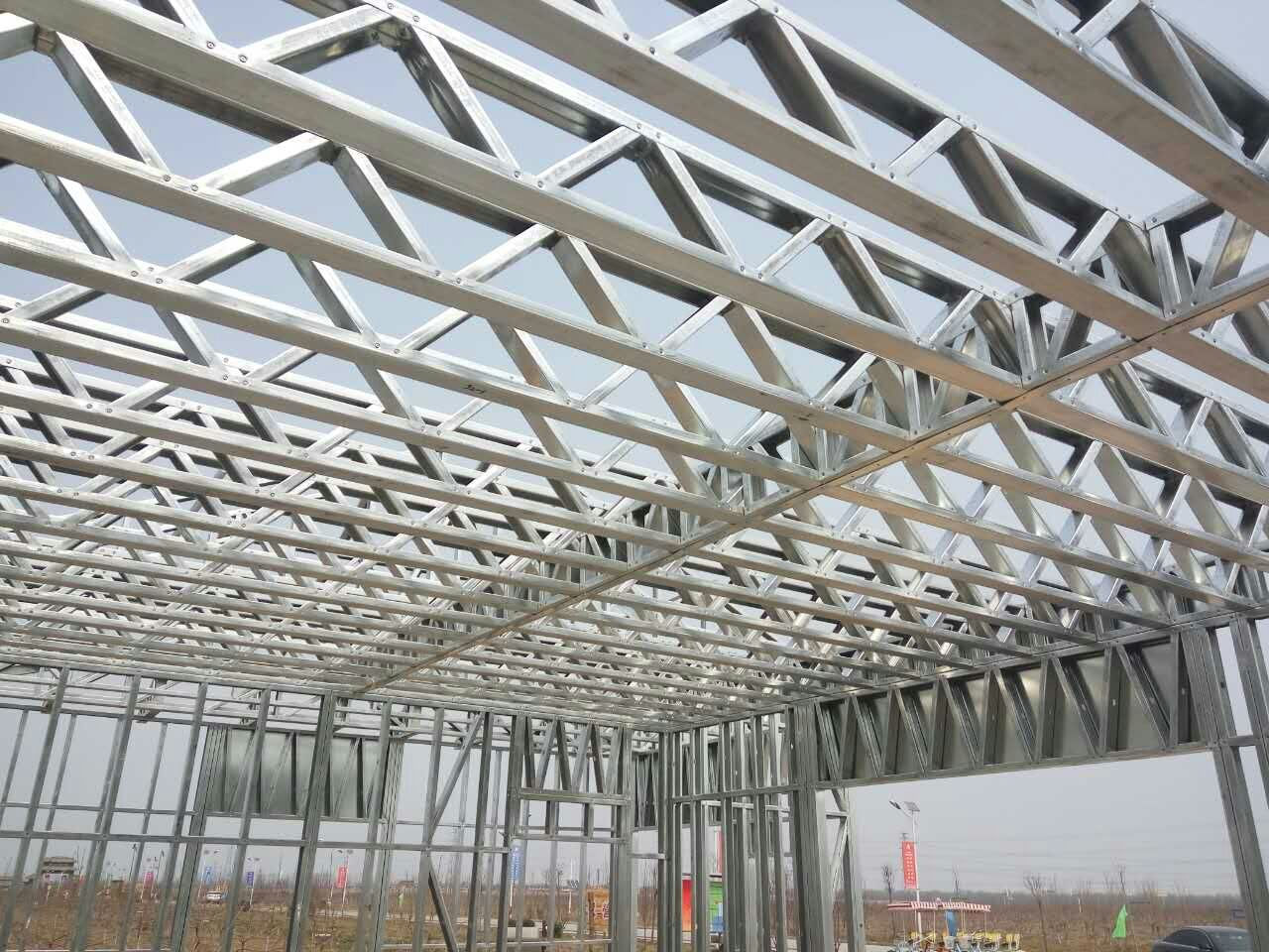 Cold Formed Steel Floor Joist Floor Truss Steel Frame