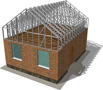 Addition and Extensions Wall or Roof truss