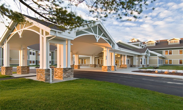 Nursing homes with different design