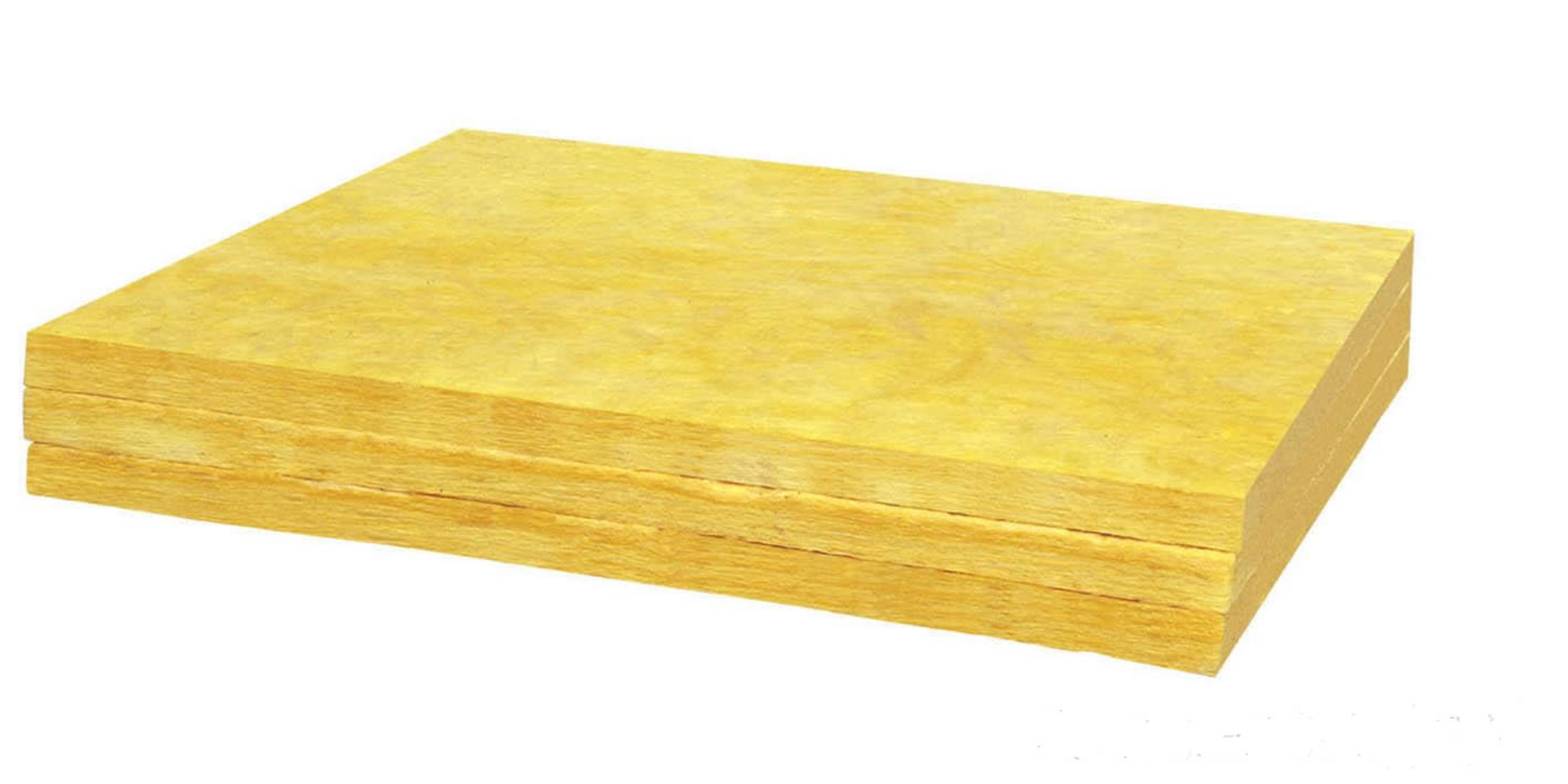 Glass wool insulation material
