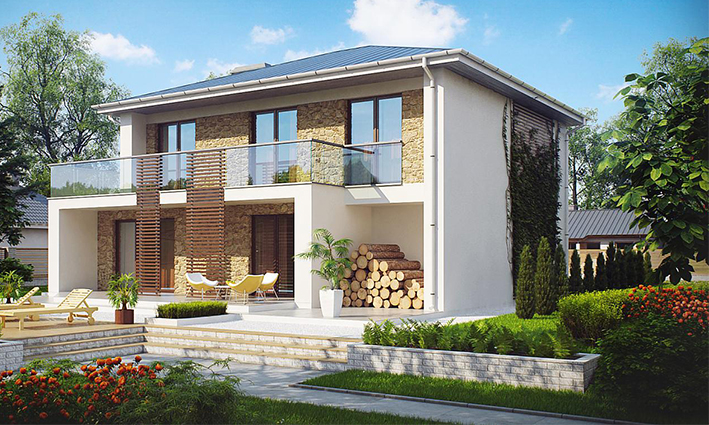 Two storeys modern luxury villa